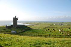 Castle in Doolin, Co. Clare.