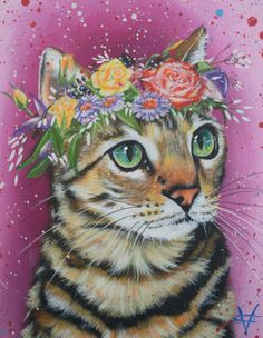 Etsy の Spring Spirit by VictoriaColemanArt