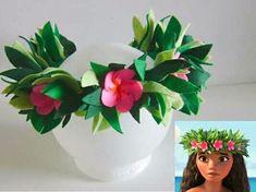 Moana Theme Birthday, Hawaiian Birthday, Luau Birthday, Unicorn Birthday Parties, Moana Costume Diy, Diy Costumes, Moana Gifts, Festa Moana Baby, Hawaiian Crafts