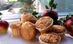 A Hearty Recipe for Gluten-Free Apple Oat Muffins: Gluten Free Apple Oatmeal Muffins