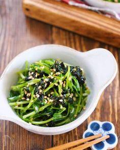切って混ぜて3分♪やみつき♪『豆苗と海苔のめんマヨサラダ』 by Yuu | レシピサイト「Nadia | ナディア」プロの料理を無料で検索
