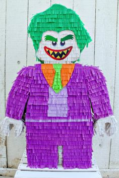 Help Batman defeat The Joker with this DIY Pinata inspired by the new LEGO Batman movie.