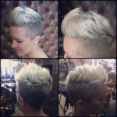 Hast Du dünnes Haar? Kein Problem. Super Kurzhaarfrisuren für Frauen mit dünnem Haar.