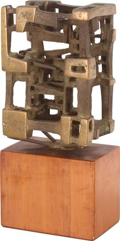 Guy Ngan Brutalist sculpture