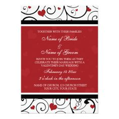 Shop Valentine's Day Photo Wedding Invitation Cards created by DreamingMindCards. Square Wedding Invitations, Holiday Invitations, Photo Invitations, Wedding Invitation Cards, Custom Invitations, Invitation Design, Invites, Valentines Day Holiday, Valentines Day Photos