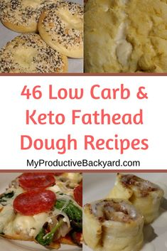 46 Low Carb Keto Fathead Dough Recipes;No need to miss out on the old carb filled favorites with this dough! Sweet, Savory and lots of pizza recipes too!