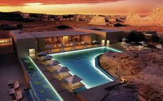 Amangiri resort, grand canyon USA