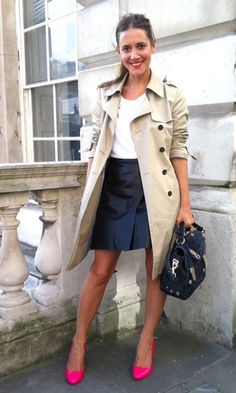 her style totally rocks. love. the. shoes.