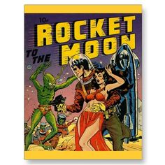 Use vintage comic book cover art on post cards (DIY activity) to create your comic book themed Halloween party invite.