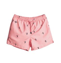 Toucan Nikben Swim Shorts Pink