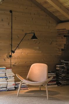 Swivel adjustable wall lamp with swing arm N° 214 Wall/ceiling lamp Collection by DCW éditions