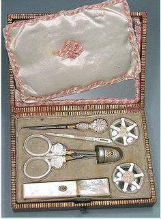 palais royal. sewing box.