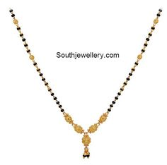 Mangalsutra latest jewelry designs - Page 3 of 31 - Indian Jewellery Designs Gold Chain Design, Gold Jewellery Design, Bead Jewellery, Gold Jewelry, Gold Necklace, Gold Mangalsutra Designs, Gold Earrings Designs, Gold Light, Carat Gold