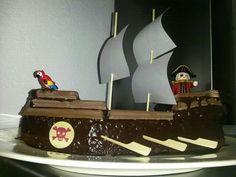 Piratenschip-taart