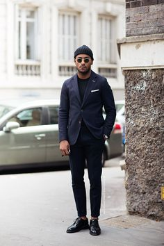 Beanie suit men Style tumblr