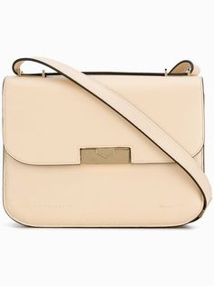 acb83d0698ace6 Victoria Beckham Medium Eva Beige Ivory Convertible Calfskin Leather Cross  Body Bag - Tradesy Victoria Beckham