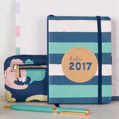 To do or not to do? Be beautifully organised in 2017 with a Busy B To Do Diary   #todoornottodo #beautifullyorganised #diary #2017 #stripe #gorgeous