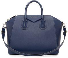 Givenchy Navy Medium Sugar Antigona Bag