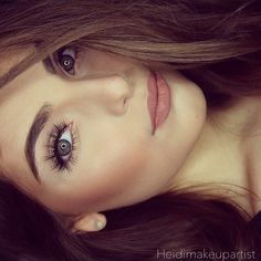 Natural Smokey Eye, see how here http://pinmakeuptips.com/best-makeup-tips-for-a-beautiful-natural-look/