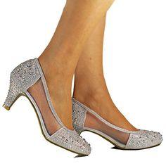 Rock on Styles New Silver Diamante Net See Thru Mid Low Kitten Heel Party Evening Bridal Court Shoes Pumps Size (UK 6 / EU 39) Rock on Styles http://www.amazon.co.uk/dp/B018ZFRWNY/ref=cm_sw_r_pi_dp_ta0Twb0HKGS1M