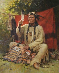 Z.S.Liang (Chinese/American) 'Blessing of the Eagle Feather'