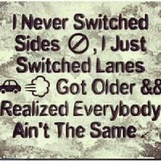 Straight like that. People are top busy, stuck playing childish games that they're forgetting its time to grow up!