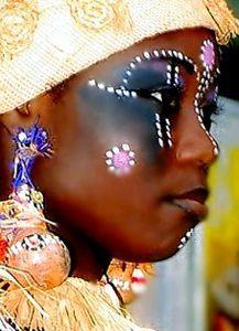 Gabon woman