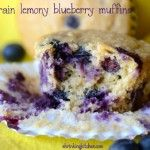 Lemon Blueberry Muffins....the site is great if you are looking at making a cooking change. I'm experimenting with whole grains, and reducing white flour from my recipes and this site has been really good at helping me think through the proportions and recipe overhauls