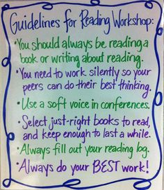 It is important to establish class rules during guided reading so that everyone has the opportunity to read in a way that is comfortable to them.