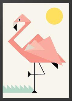 tangram flamingo - Google zoeken