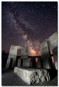 Stonehenge ~ Maryhill, Washington, US.