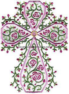 Machine Embroidery Crosses | Crosses Machine Embroidery Design