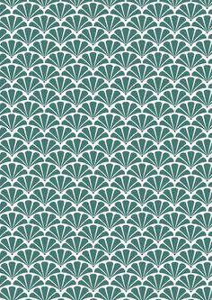PATERN | Repeating pattern via PATTERNS & PRINTS Textile Prints, Textile Patterns, Color Patterns, Print Patterns, Geometric Patterns, Japanese Textiles, Japanese Patterns, Ribbon Design, Pattern Books