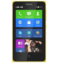 Nokia X dual SIM with Download top apps like Skype and Plants vs. Zombies 2 & Nokia X software platform based on Google's Android. http://www.ispyprice.com/mobiles/2913-nokia-x-dual-sim-price-list-india/
