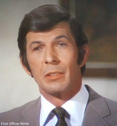 """Leonard Nimoy as Paris in Mission Impossible """"The Rebel"""" 1970 First Officer Nims Leonard Nimoy, Mission Impossible, Good And Evil, Spock, Star Trek, Paris, Shit Happens, Live Long, Rebel"""