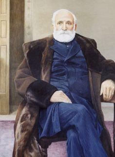 The Honourable Sir Mackenzie Bowell,   5th Prime Minister of Canada (1894-1896) | #cdnpoli