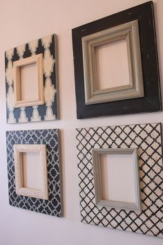 Awesome ETSY shop for custom stenciled frames