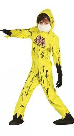 Disfraz zombie nuclear