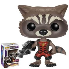 Pop! Marvel - Guardians Of The Galaxy - Rocket Raccoon Exclusive Ravager Version