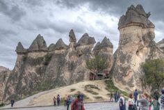 The rocks of Pasabag Valley Cappadocia Turkey