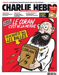 These Are The Charlie Hebdo Cartoons That Muslim Terrorists Thought Were Worth Killing Over (w/translations) > http://www.huffingtonpost.com/2015/01/07/charlie-hebdo-cartoons-paris-french-newspaper-shooting_n_6429552.html?ir=Media Islamic terrorists kill 12 in France over cartoons 1/7/15 > http://www.dailymail.co.uk/news/article-2900259/Gunmen-kill-11-Charlie-Hebdo-attack.html Please Pin far & wide! Show 'fearless disrespect' for these barbarians & their medieval religion!
