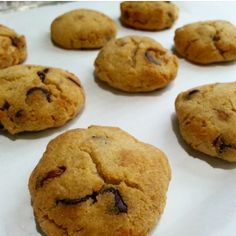 Ripped Recipes - Coconut Flour Chocolate Chip Cookies - Perfect remix of the classic Chocolate Chip cookie