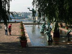 carl milles swedish sculptor | ... - Photo of Stockholm, Millesgården, Sculpture garden of Carl Milles