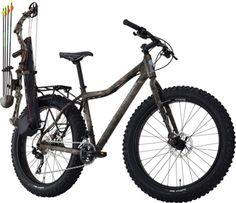 Fat Bike For Hunters. Meet the 'Cogburn'