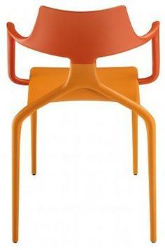 Green Srl Shark Chair, Set of 4 modern chairs