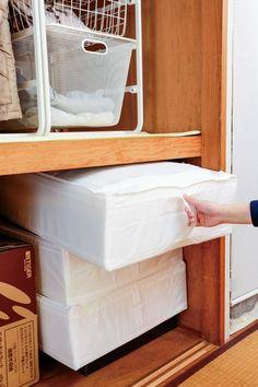 the360.life】 コレは意外! IKEAが押入れ収納に絶妙だった気持ちいい ... 客人用やシーズン前の掛け布団などは、同じケースに統一して収納しよう。このスクッブは側面に補強素材が入っているので、横置きのほか縦置きでも崩れることなく収納 ...
