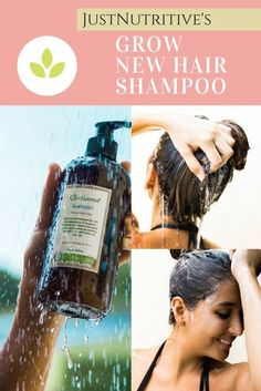 For greater-looking, healthier hair growth, you need a nutritive product like our Grow New Hair Shampoo which will intensely focus on your scalp and follicles by providing vitamins and proteins for the promotion of thicker, fuller, and stronger hair.