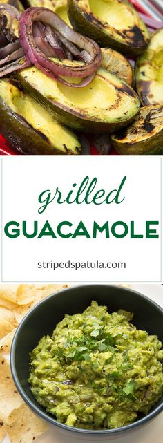 Easy and delicious with subtle smoky undertones, Grilled Guac is a great option for summer entertaining!