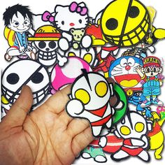 WHOLESALE Lot 40 LOT CARTOON BAND KID KIDS Anime MIX Embroidery Iron patch saw #Unbranded