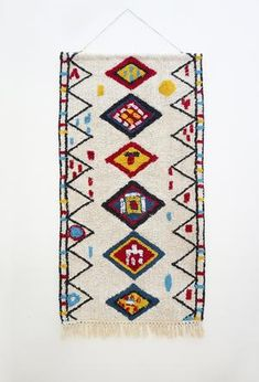 Add an eclectic feature to your living spaces with our woven wall hangings! Measuring x these large textural hangings will most definitely add personality and warmth to your home. Fabric Wall Decor, Wall Decor Design, Woven Wall Hanging, Love Home, Wall Hangings, Geometric Shapes, Twine, Living Spaces, Personality